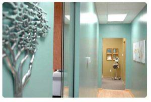 Skin2O Spa Hallway
