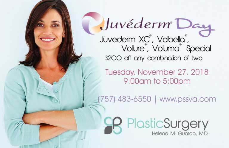 Dr. Guarda's Juvederm Day 11/27/2018