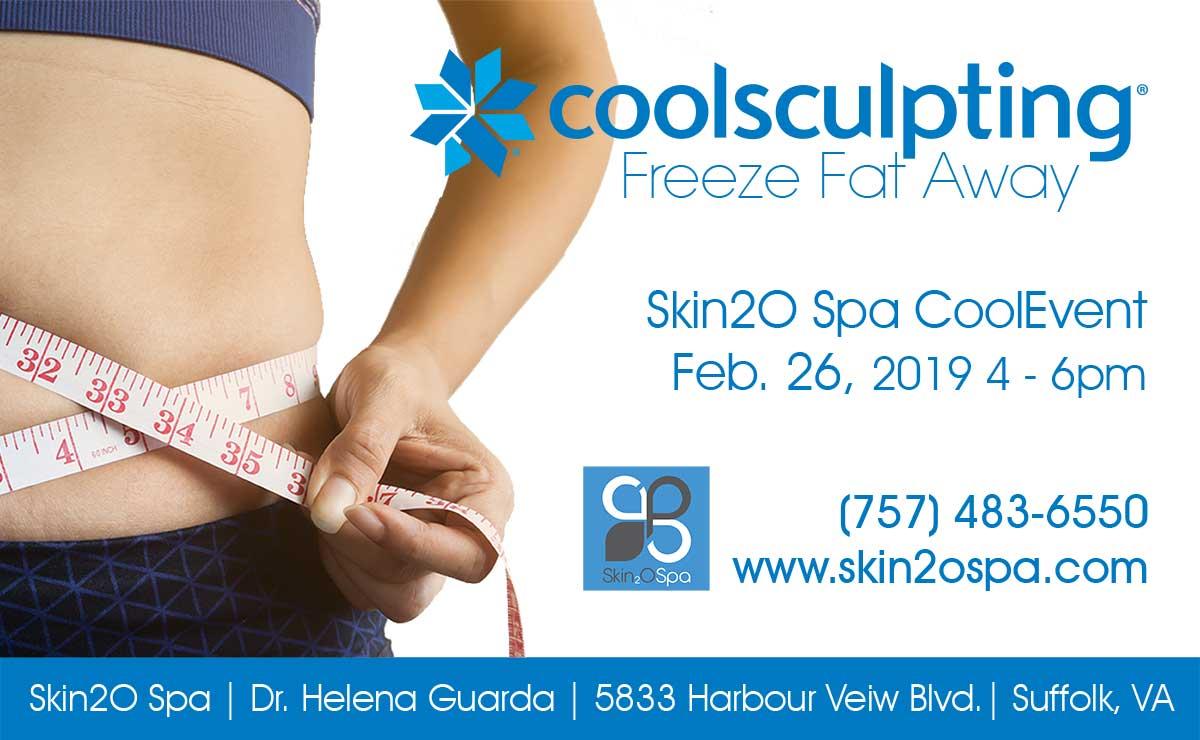 Skin2o Spa CoolSculpting Event